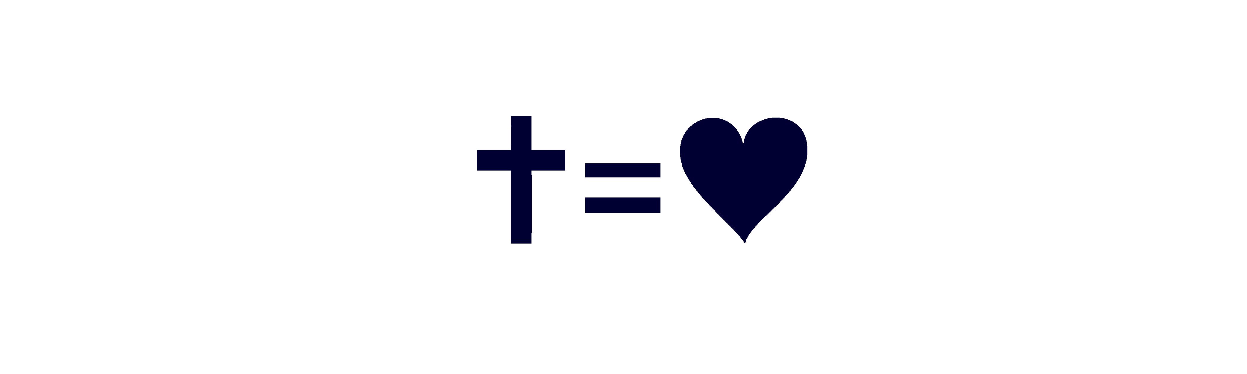 Kreuz gleich Liebe